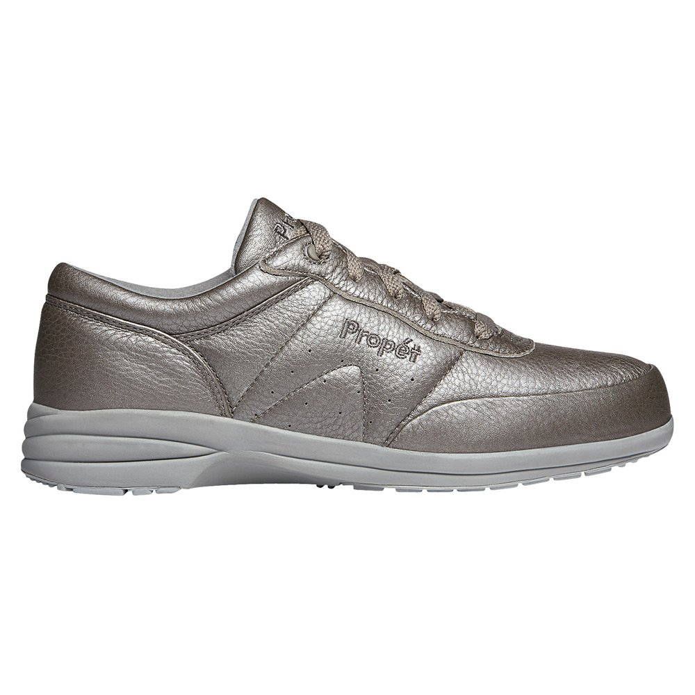 Propet Women's Washable Walker Sneaker B019S1G3BQ 7.5 Slim US|Pewter