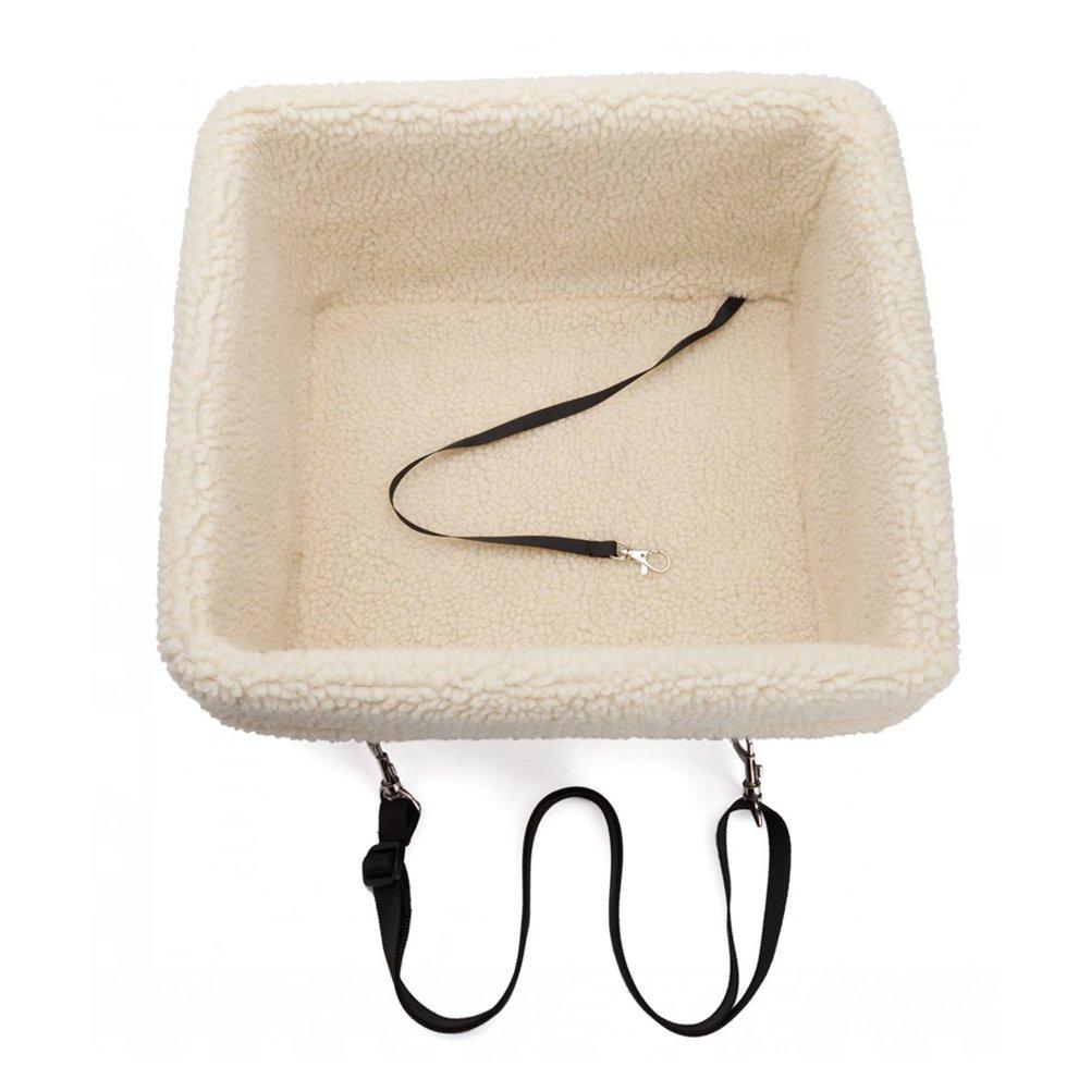 POPETPOP Car Foldable Waterproof Pet Dog Cat Bed House Seat Bag (Black Letter)