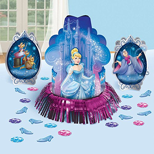 Amscan Cinderella 'Sparkle' Table Decorating Kit