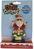Crooked Christmas Ornament- Zen-ta-Claus