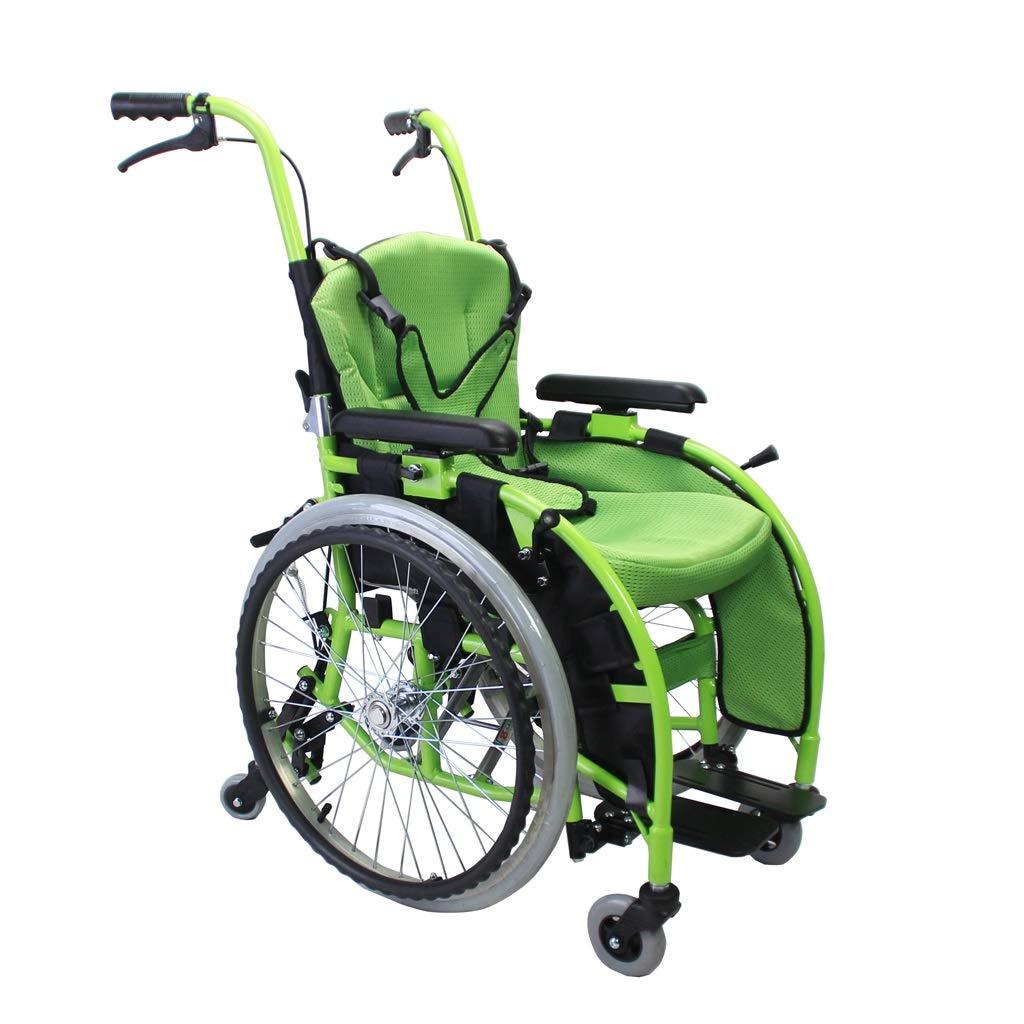 【人気No.1】 車椅子 車椅子 - 小型ポータブル無効トロリー折りたたみポータブル手動車椅子6輪デザイン調整可能な座席位置手すり調整 - (色 : 緑) : 緑 B07P7VB7LM, クリーニングのプレミアム:330bf5f3 --- a0267596.xsph.ru