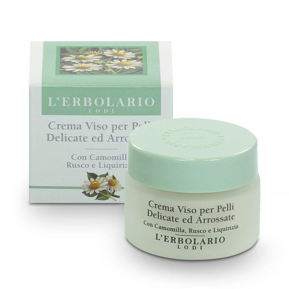 Crema pelli sensibili di camomilla, spinato Mirto e liquirizia, 1er Pack (1X 30ML) L' Erbolario 011.024