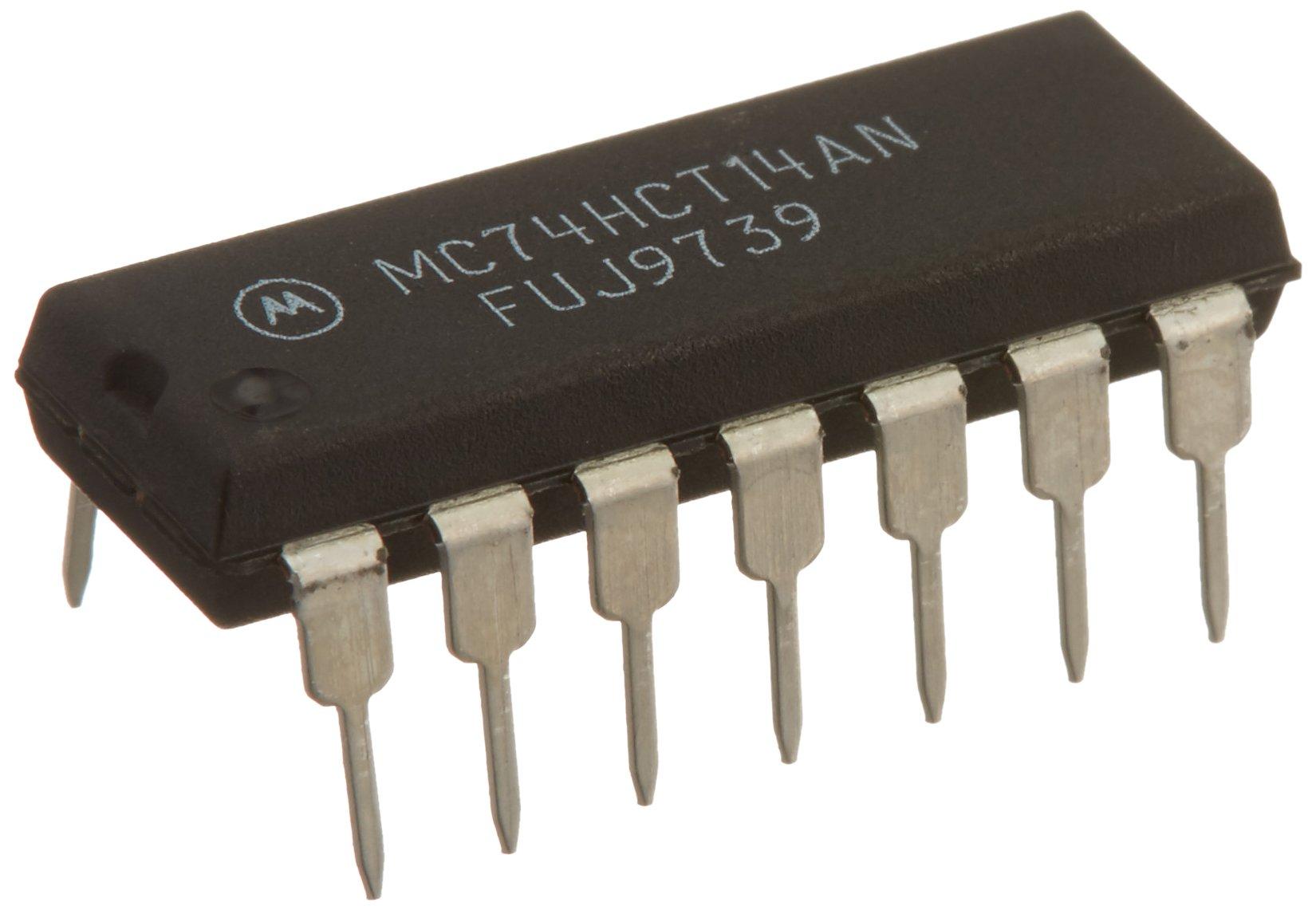 Major Brands 74HCT14 ICS and Semiconductors, Hex Schmitt Trigger Inverter (Pack of 15)