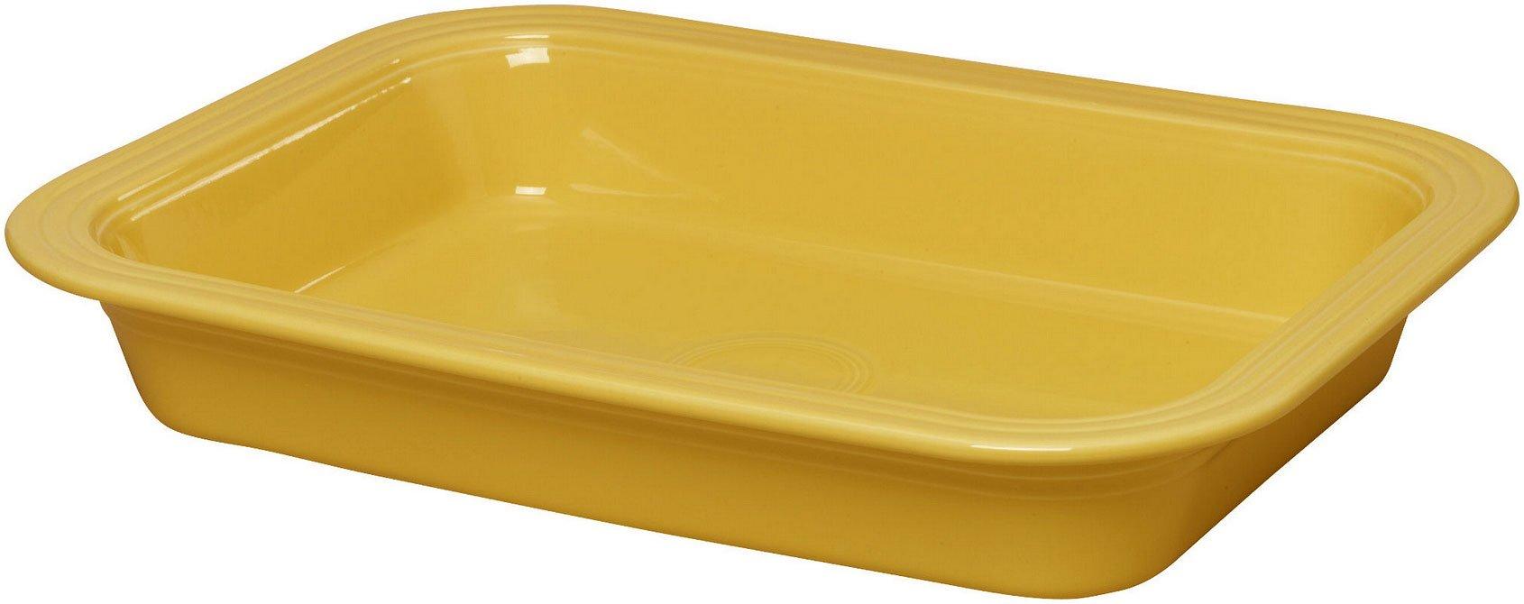 Fiestaware 9'' x 13'' Lasagna Pan (Sunflower Yellow)