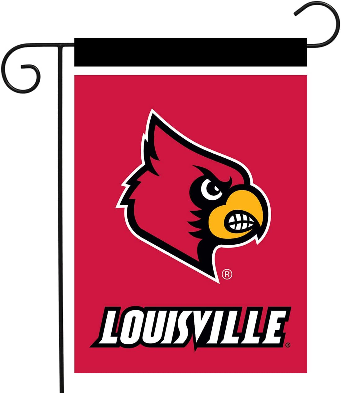 "Briarwood Lane Louisville Cardinals Garden Flag NCAA Licensed 12.5"" x 18"""