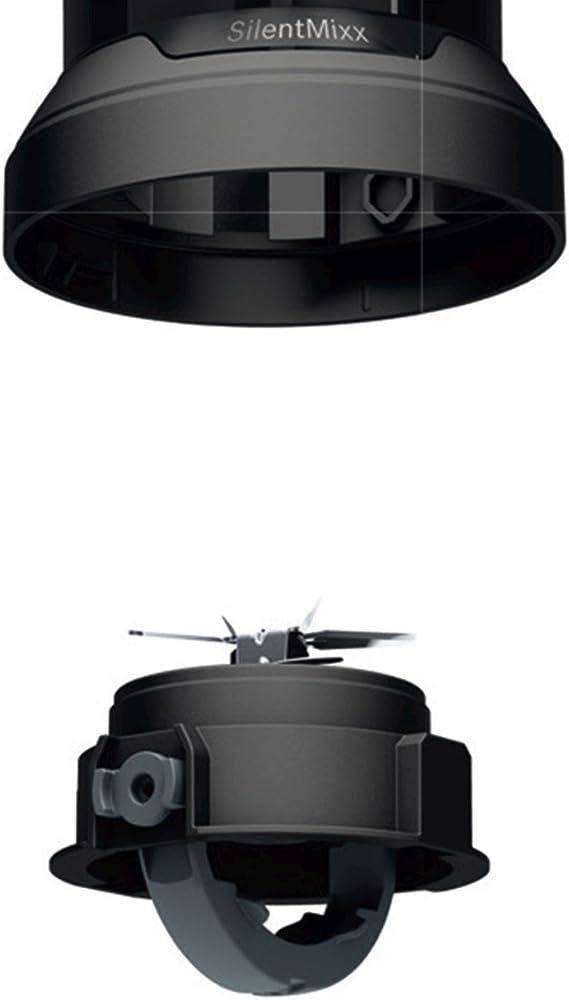 Bosch MMB42G0B SilentMixx Batidora de vaso, 700 W, color negro ...