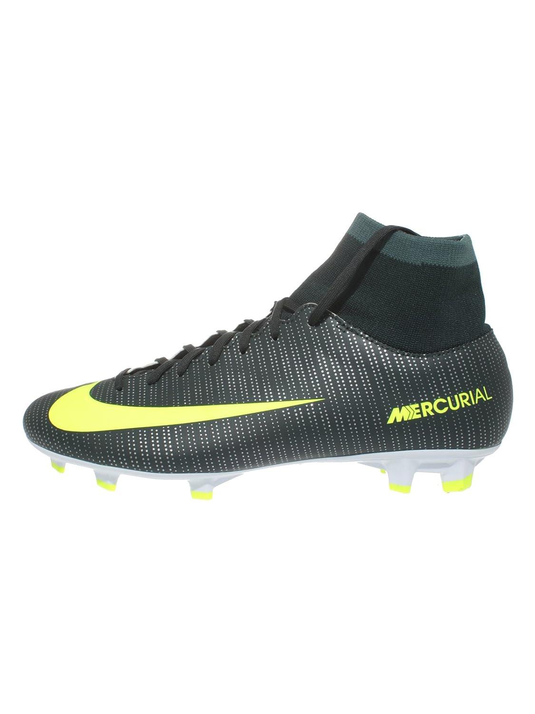 Nike Herren Mercurial Victory VI CR R7 DF FG Fußballschuhe, Mehrfarbig (Seaweed Hasta Weiß Volt), 44.5 EU