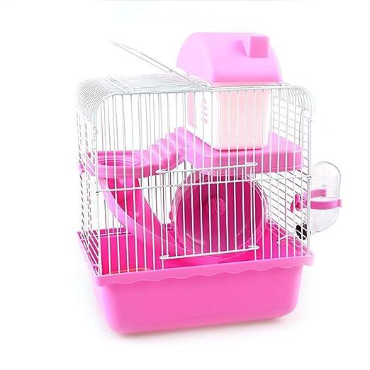 Grizack Hamster Cage Multifuncional Pets House Villa Jaula de ...