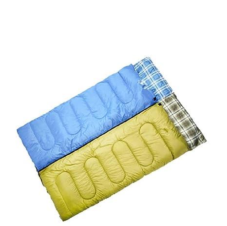 Saco de dormir con capucha/ultra light/camping/al aire libre , blue