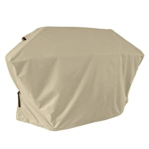 Porch Shield 100% Waterproof 600D Heavy Duty Barbecue Grill Cover Outdoor BBQ Protector Fit Weber, Brinkmann, Char Broil, Holland and Jenn Air Grills (Up to 58 inch)