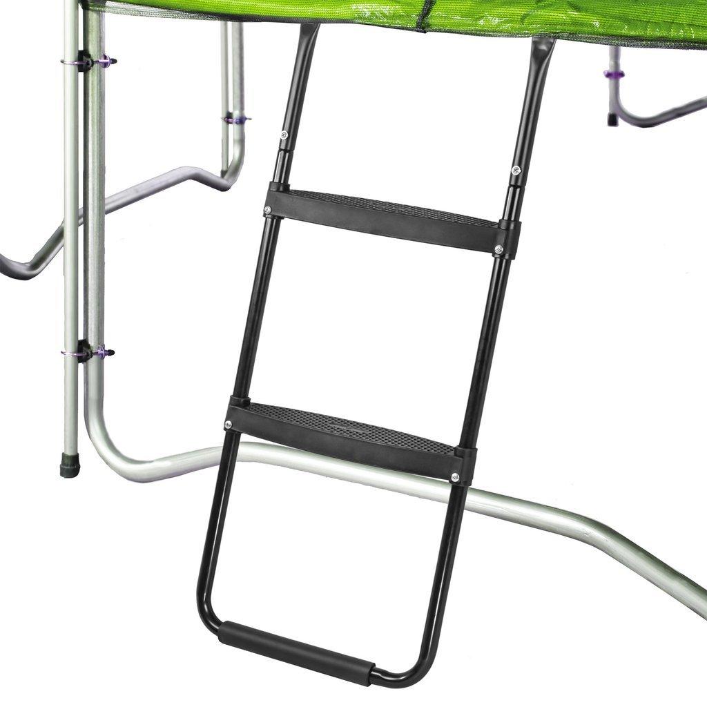 Pure Fun Trampolin Zubehör: dura-Bounce Trampolin Leiter mit 2 Plattform Schritte