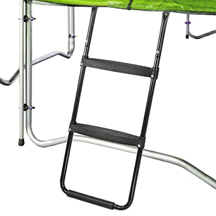 Pure Fun Trampoline Accessory: Dura Bounce Trampoline Ladder With 2  Platform Steps