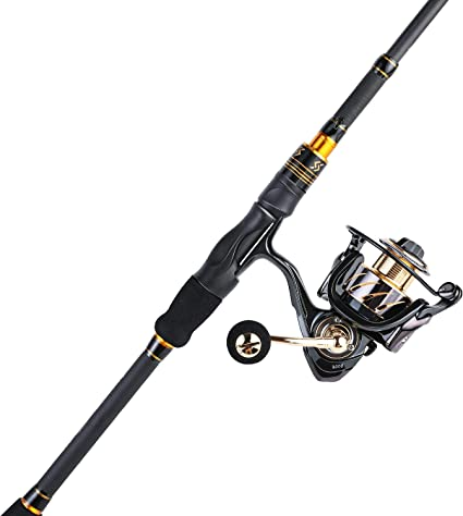 Amazon Com Sougayilang Fishing Rod And Reel Combos Ultra Light 36 Ton Carbon Fiber Telescopic Spinning Fishing Pole With 13 1bb Smooth Spinning Fishing Reel For Travel Fishing Sports Outdoors