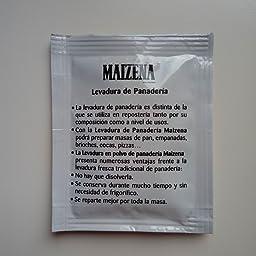 Maizena - Levadura Panadería, 4 unidades: Amazon.es ...