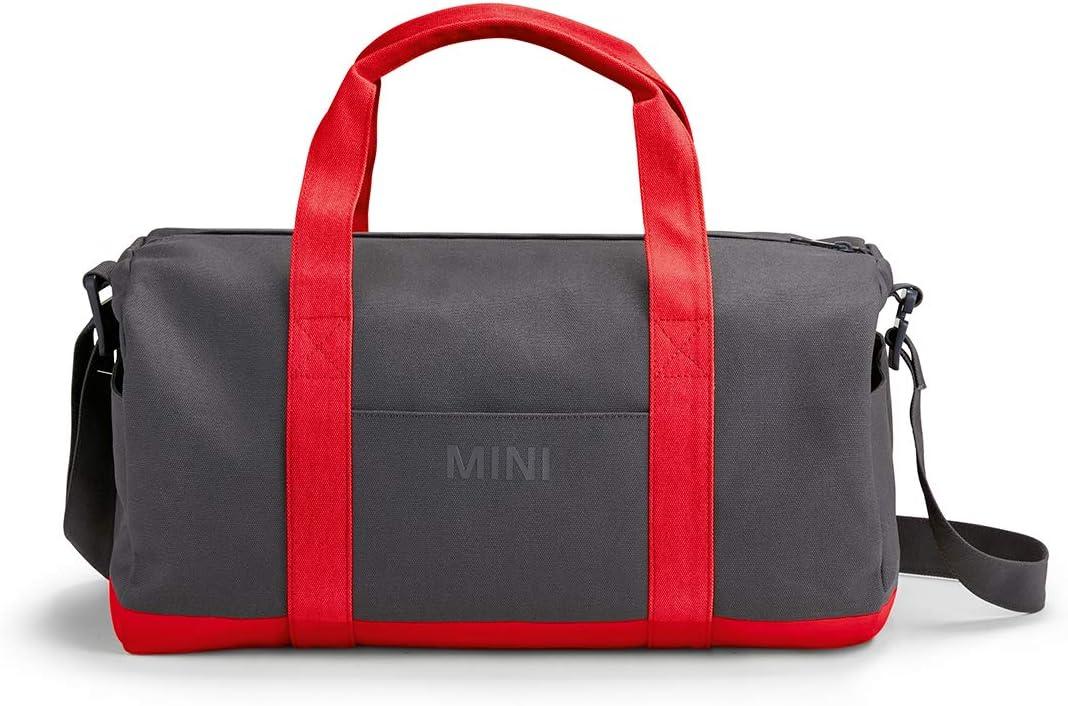 Grey//Coral MINI Duffle Bag