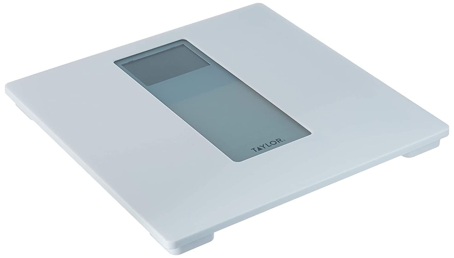 Taylor Precision Products Plastic Digital Bath Scale, White Gray