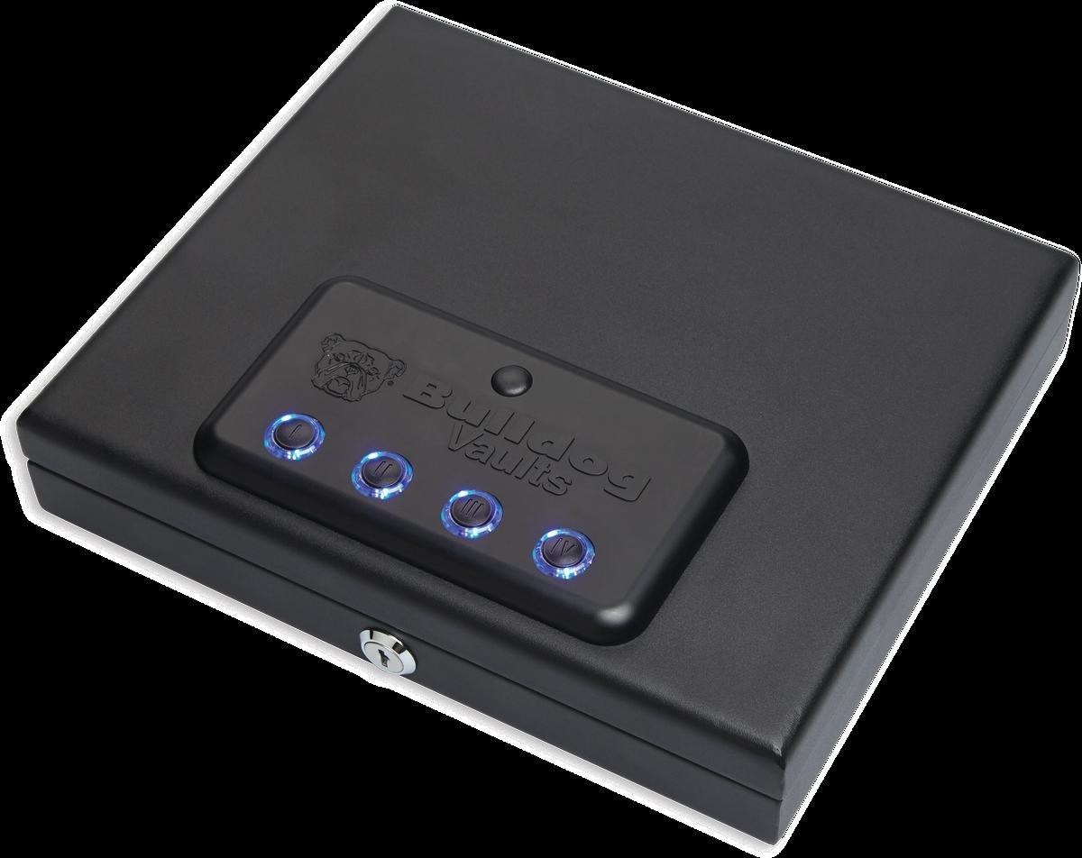Bulldog Vaults Magnum Biometric Top Load Pistol Vault Black, 11.5 x 9.8 x 2.5'' by Bulldog Vaults (Image #2)