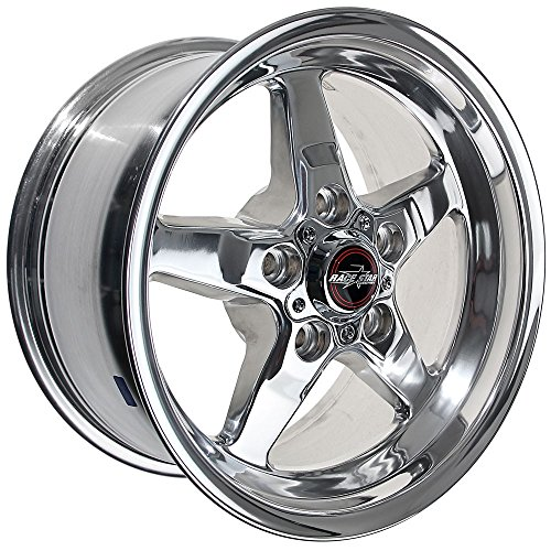 Race Star (Race Star Drag Star Wheel Polished 15x8 - 5x4.5 - 5.25BS 92-580150DP)
