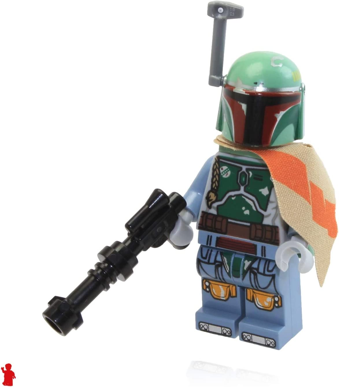 Lego star wars boba fett series  minifigure gun New