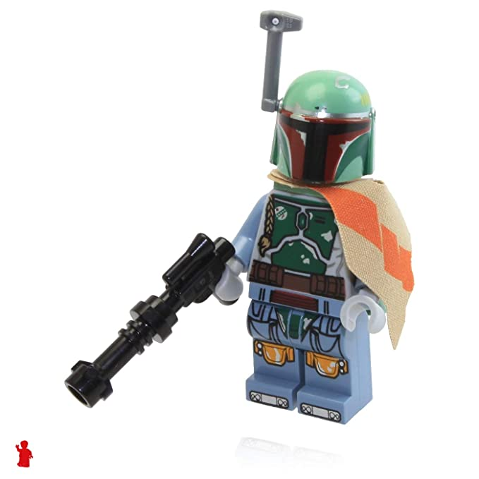 Amazon.com: LEGO – Minifigura de Star Wars Boba Fett Bounty ...