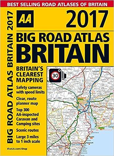 aa big road atlas britain 2017 aa road atlas amazoncouk aa publishing 9780749577759 books