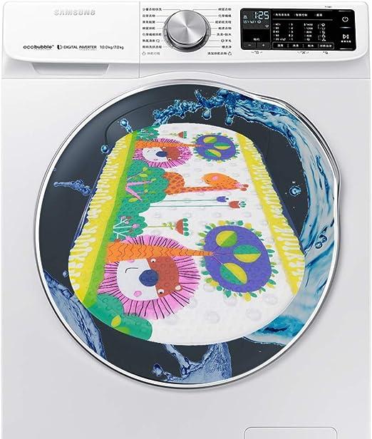 Hollylife Alfombra Antideslizante de Ba/ño con tapete Orificios y sin BPA Alfombra de Ba/ñera Gran Durabilidad F/ácil de Limpiar 69cm x 39cm 54 Fuertes Ventosas
