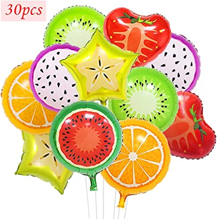 Fruit balloons birthday parties decorations balloons children/'s toys