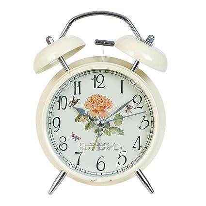Clayre & Eef 6 ac0011 Reloj Mesa Reloj Despertador Natural ...