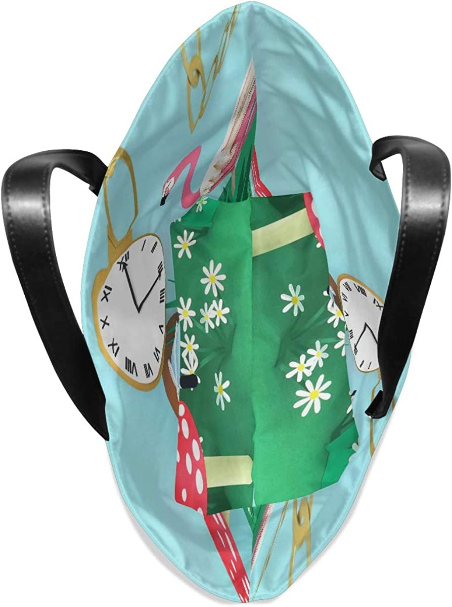 FANTAZIO Tote Shoulder Bag for Women Cute Cartoon Tote Bag