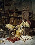skin on frame kayak building - Oil Painting 'Moreno Carbonero Jose Prince Carlos Of Viana 1881' 20 x 26 inch / 51 x 65 cm , on High Definition HD canvas prints is for Gifts And Bath Room, Bed Room And Dining Room decor, pictures