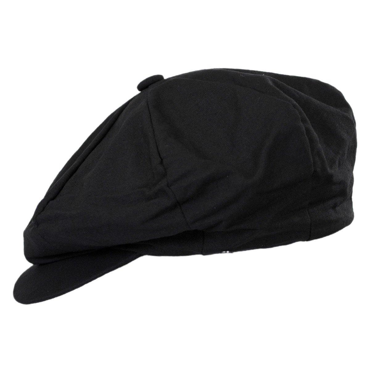 34abdd58 Linen Blend Big Apple Cap (Black) at Amazon Men's Clothing store: