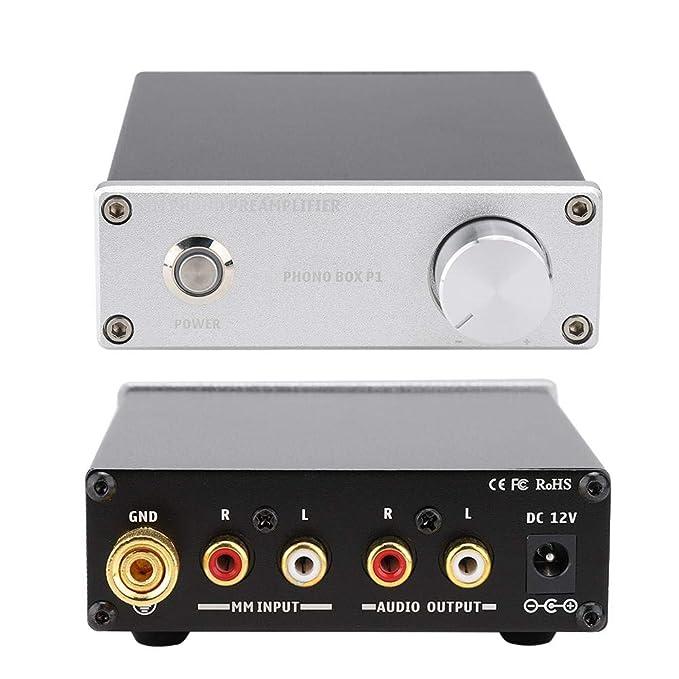 Kafuty Amplificador de Fono con RIAA para Mesa giratoria MM Mini ...