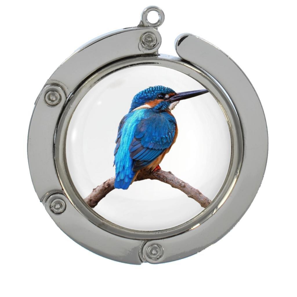 1StopShops Kingfisher Image Design Portable Handbag Hanger