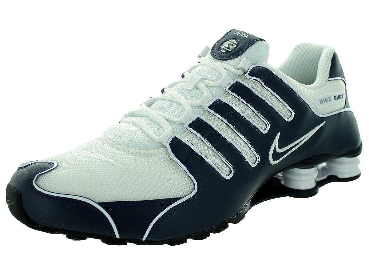 new concept 83921 74f57 Nike Men's Shox NZ Shoe #378341-411