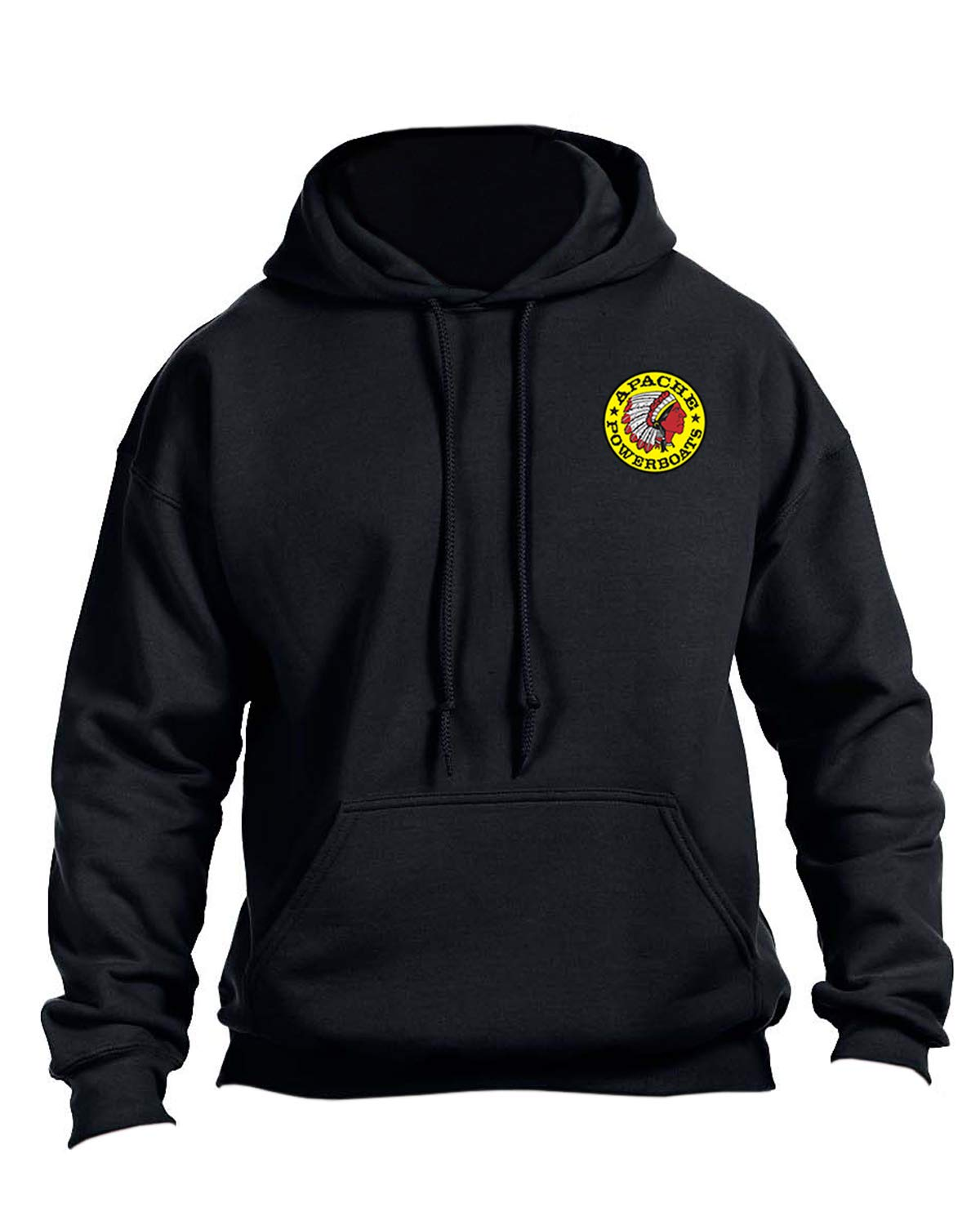 Apache Powerboats Offshore Champion Hooded Sweatshirt (XX-Large, Black) by Apache Powerboats