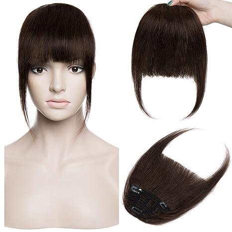 Frange a Clip Cheveux Naturel Extension a