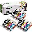 Kingjet Compatible Ink Cartridge Replacement for PGI-220 CLI-221 Work with PIXMA IP3600 IP4600 IP4700 MX860 MX870 MP560 MP620 MP620B MP640 MP980 MP990 PMFP1 PMFP3 SFP1 SFP2 Printer, (3SET)