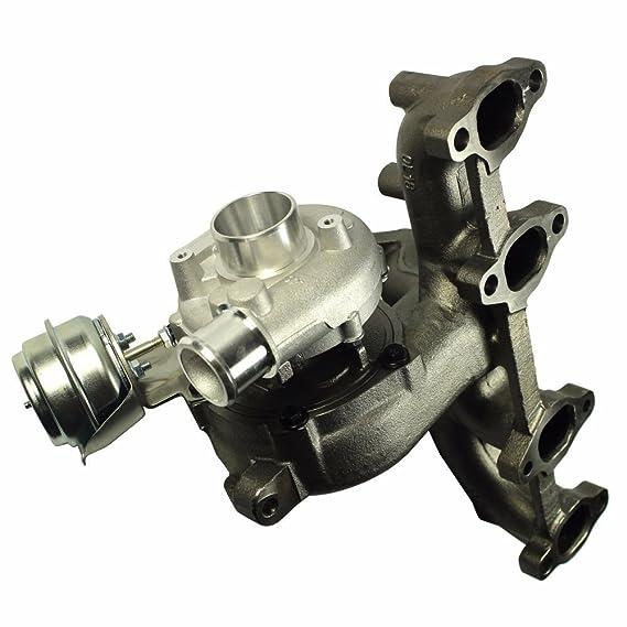 Amazon.com: FidgetGear TURBO CHARGER & WASTEGATE & CAST IRON MANIFOLD FOR AUDI/VW 1.9T TDI K04 GT1749V: Automotive