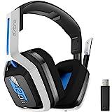 Headset sem fio Astro Gaming A20 Gen 2 para PlayStation 5 & 4, PC e Mac - Branco/Azul