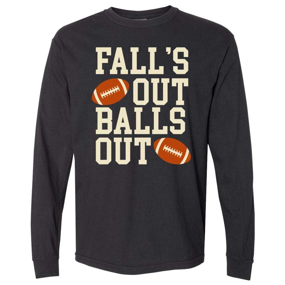 Fall's Out Balls Out Football Unisex Shirts