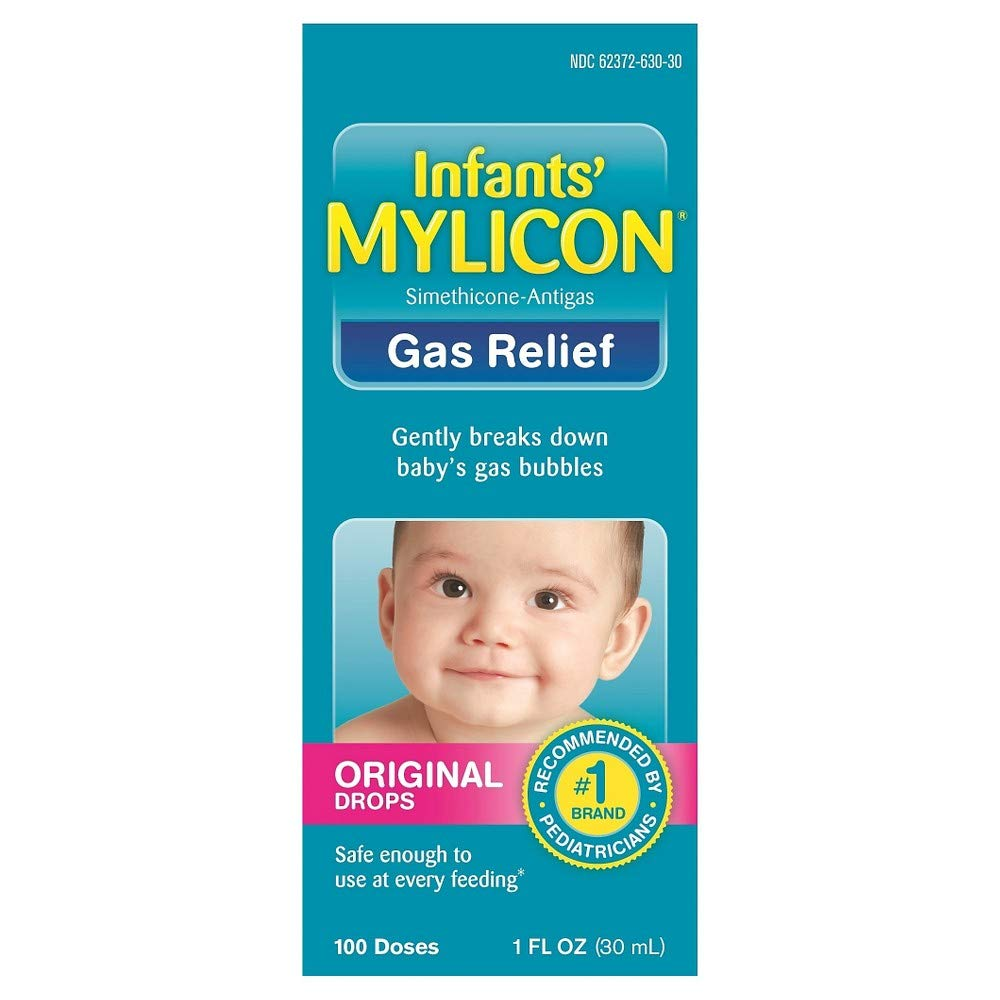 Mylicon Infants' Gas Relief Original Drops - 1 oz, Pack of 4 by Mylicon