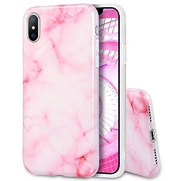 coque iphone x marbre silicone