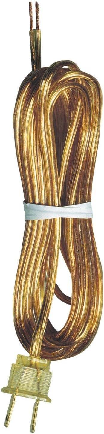 Westinghouse Lighting FBA_7010300 70103 15-Feet Gold Cord Set, Pack of 1