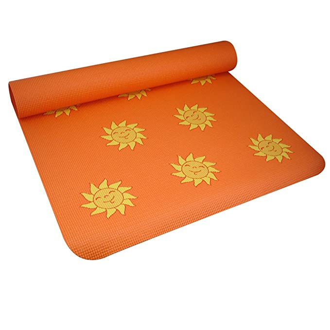 YogaDirect Fun Yoga Mat For Kids - Sun: Amazon.es: Deportes ...