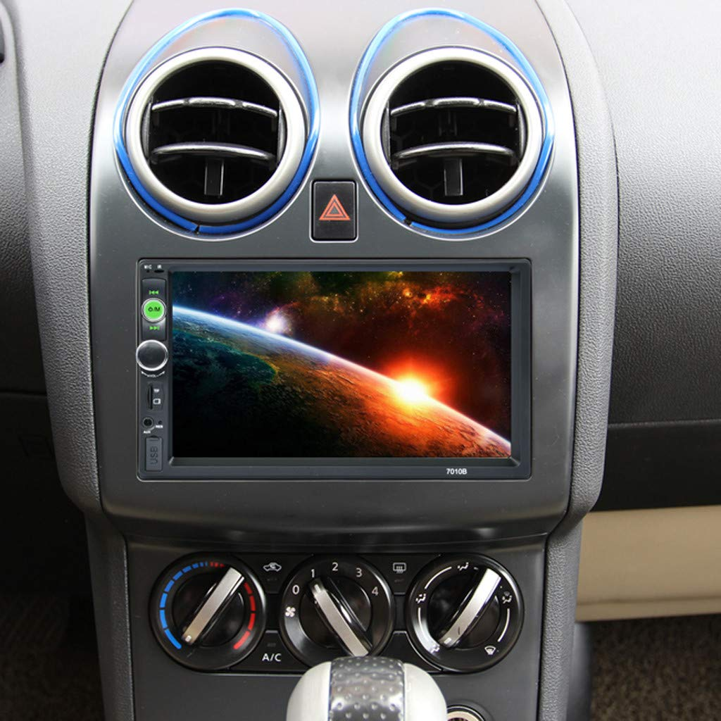 Amazon.com: 💗 Orcbee 💗 _7 HD Bluetooth Touch Screen Car Stereo Radio 2 DIN FM/MP5/MP3/USB/AUX: Clothing