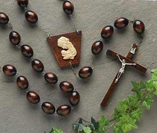 60 Barn Wood Wall Rosary