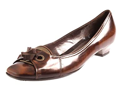 official photos ead06 5f836 Gabor Damenschuhe Pumps Leder Cognac Lederpumps Damen 75.292 ...