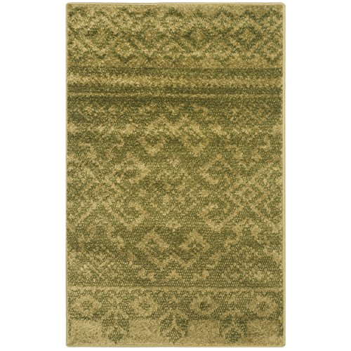Safavieh Adirondack Collection ADR107D Green and Dark Green Rustic Bohemian Area Rug (2'6