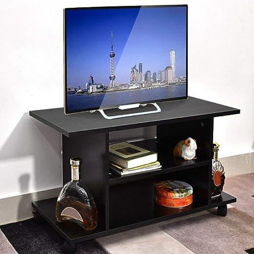 lyrlody Mueble de TV con Ruedas Mesa para Televisión Mesa TV Móvil ...