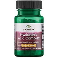 Swanson Hyal-Joint Hyaluronic Acid Complex 33 Milligrams 60 Capsules